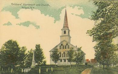 Soldiers'_Monument_&_Church,_Nelson,_NH