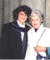 At my U.B.C. graduation, 1990