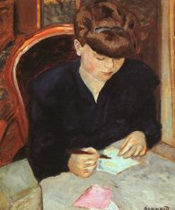 Bonnard The Letter