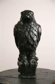 falcon-statue