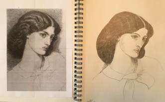 Rossetti-Drawing