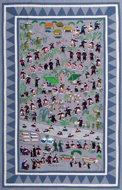 hmong story cloth