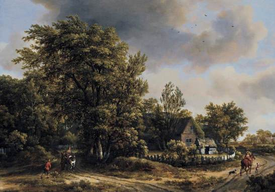 Meindert_Hobbema_-_Wooded_Landscape_with_Travellers_-_WGA11442